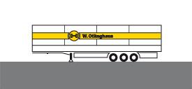 Schwertransporte - Megatrailer mit verbreiterbarem Planengestell
