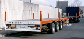 Schwertransporte - Megatrailer, offen