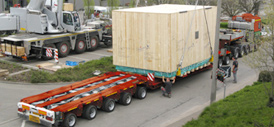 Schwertransporte - Tiefbett / Tieflader, offen